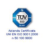 Certificato Iso 9000 SAMA Italia