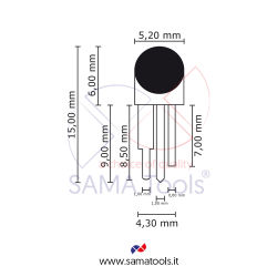 Rugosimetro Digitale Portatile - campo misura 0-16um