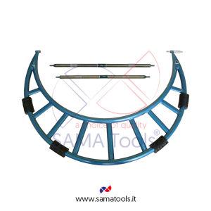 Micrometro per esterni con prolunghe intercambiabili per Grandi Dimensioni - Campo 300-400/0,01mm