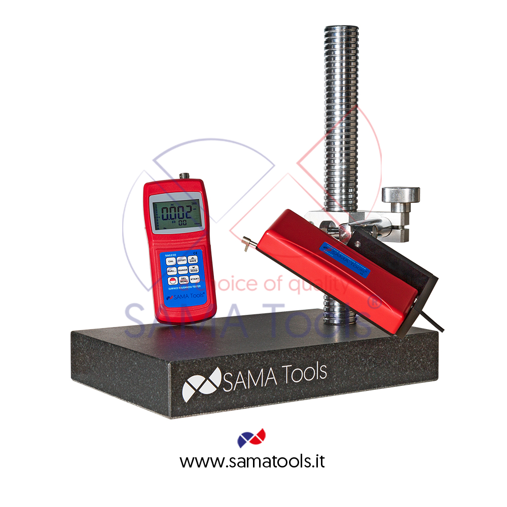 Test stand for surface roughness testers