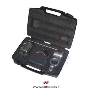 Set viscosità: Coppa viscosità (FORD/ISO), cronometro, stand in INOX