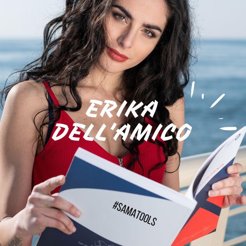 Erika Dell'Amico testimonial per SAMA ITALIA Samatools