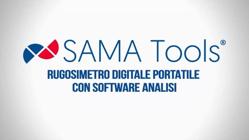 Rugosimetro portatile digitale SA6260 di SAMA Tools