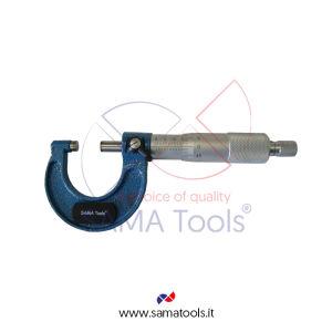 Micrometro per esterni centesimale - Campo 0-25/0,01mm