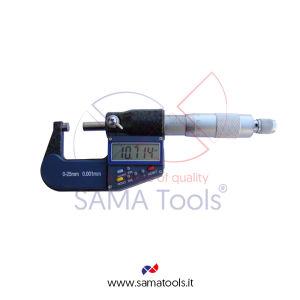Micrometro per esterni Millesimale Digitale - Campo 25-50/0,001mm
