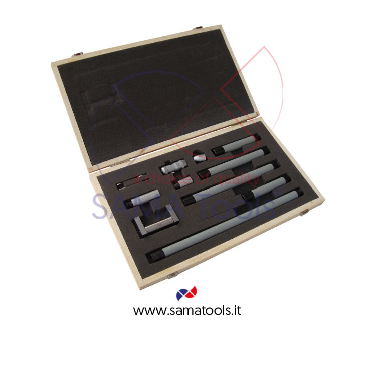 Inside micrometer with extension rod 0,01mm