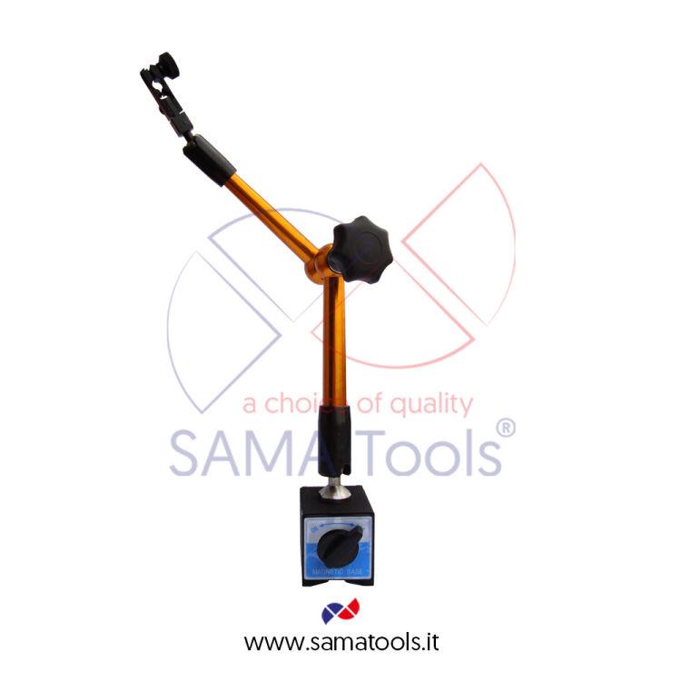 Supporto Magnetico Portacomparatore snodato idraulico forza 70Kg