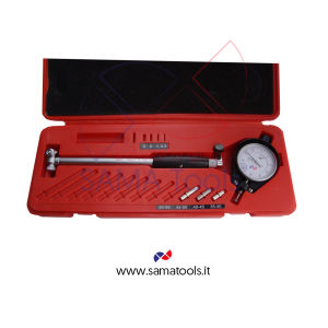 Precision dial bore gauge with dial gauge