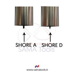 Durometro Digitale per gomma e plastica Shore - D