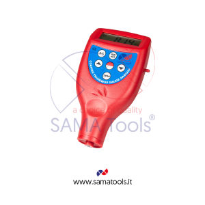 Coating thickness gauge integrated probe