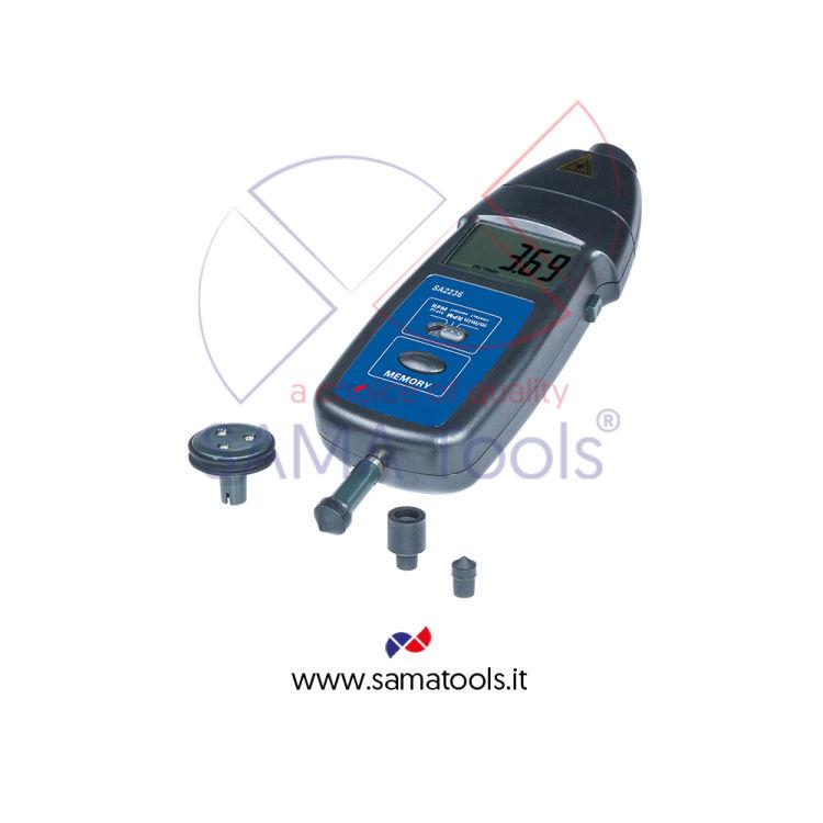Tachimetro Digitale Laser e Contatto