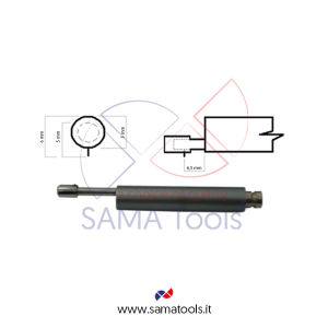 High precision probe 5um L=82mm