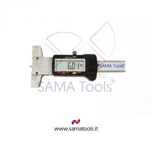 SMALL DIMENSIONS DIGITAL DEPTH CALIPER