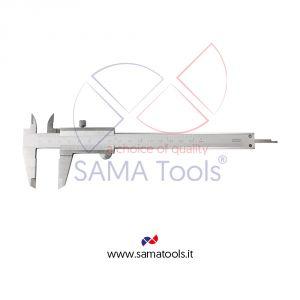 Stainless steel mono-block Vernier caliper with blocking screw 1/20