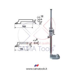 Digital height gauges reading 0,01mm