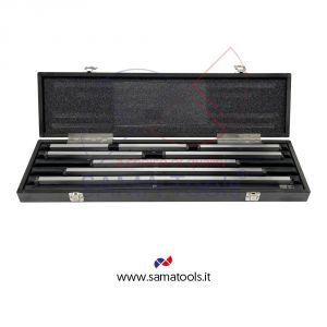 Set 8 blocchetti pianparalleli in acciaio DIN1