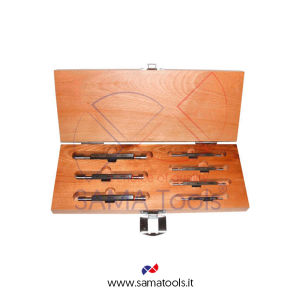 Set plain plug gauges H7 - Size D3 - D4 - D5 - D6 - D8 - D10 - D12