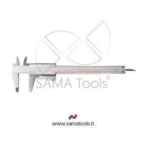 Stainless steel mono-block vernier caliper with blocking lever 1/20
