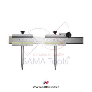 Marking caliper in stainless steel