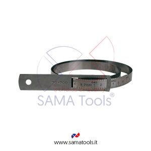 Diametrometro rapido in acciaio INOX spessore 0,5mm, lettura nonio 0,1mm
