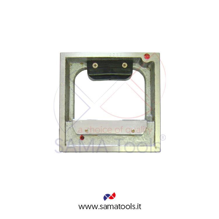 Livella quadra con 2 facce prismatiche e 2 piane rettificate DIN876