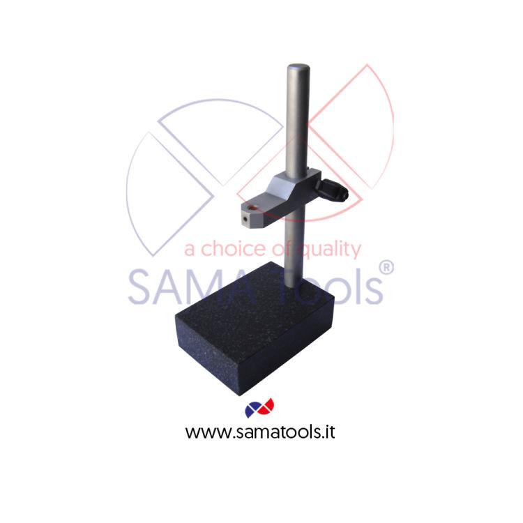 Stativo porta comparatore in granito Base 250x160mm H=200mm