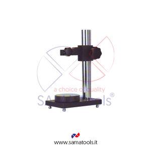 Stativo porta comparatore in acciaio Base Diam. 70 H=200mm