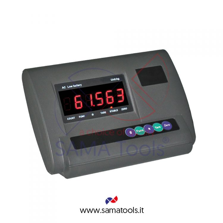 Weight indicators with LED display