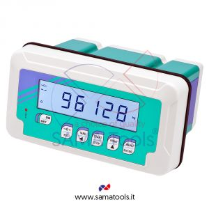 Weight indicators with backlight LCD display