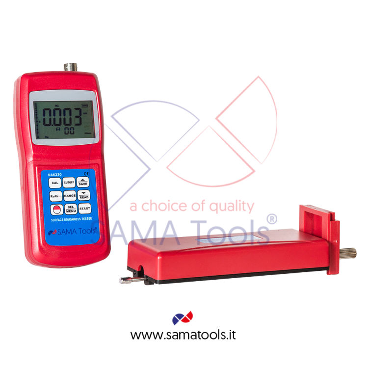 Surface roughness testers with external probe