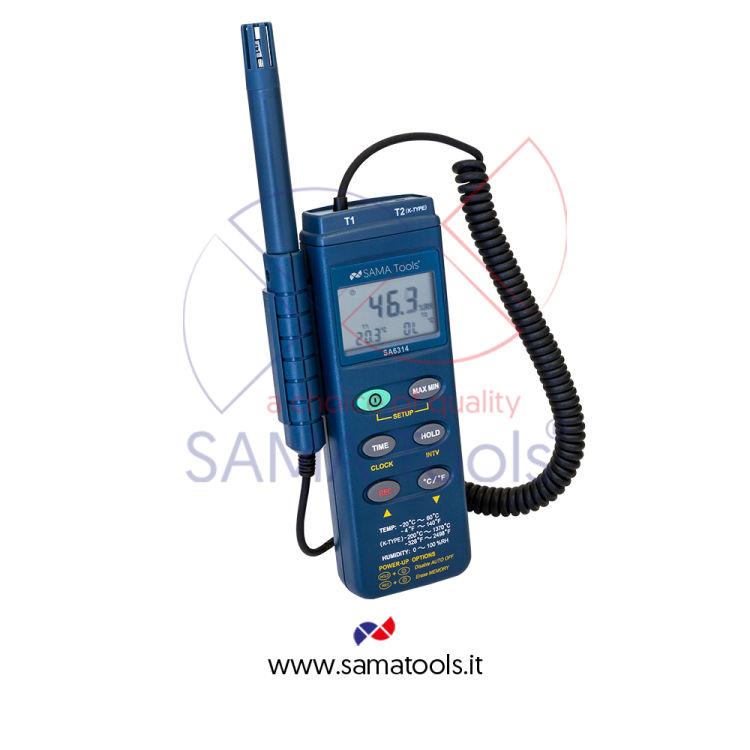 Humidity and temperature meters - separate sensor
