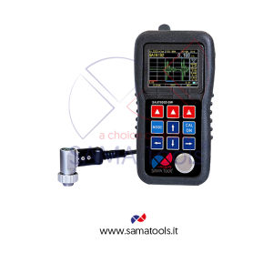 Spessimetro ad Ultrasuoni Grafico. Campo 0,50 ~ 500 mm