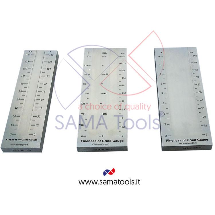 Fineness of grind gauges SAGR