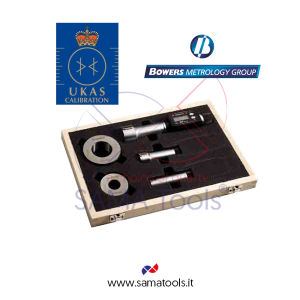 Set Micrometri digitali a 3 punte BOWERS