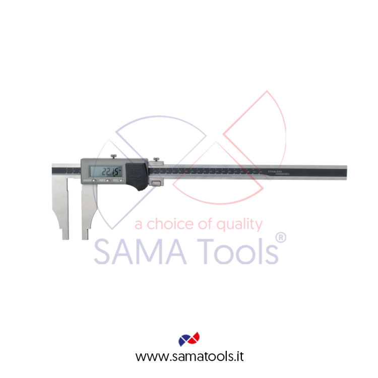 IP66 digital caliper without jaws with fine adjustment