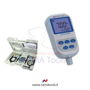 Portable PH and conductivity meter