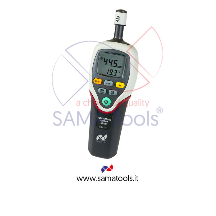 Humidity and temperature meters Dew Point