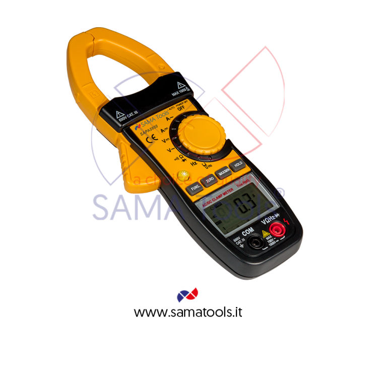 1000 A AC/DC clamp meters