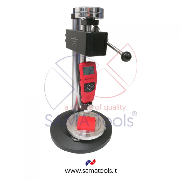 Stand for digital shore hardness testers