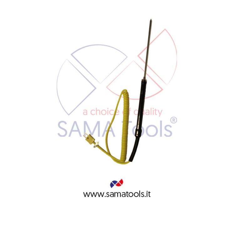 Sonda ad infissione per Termometri a termocoppia