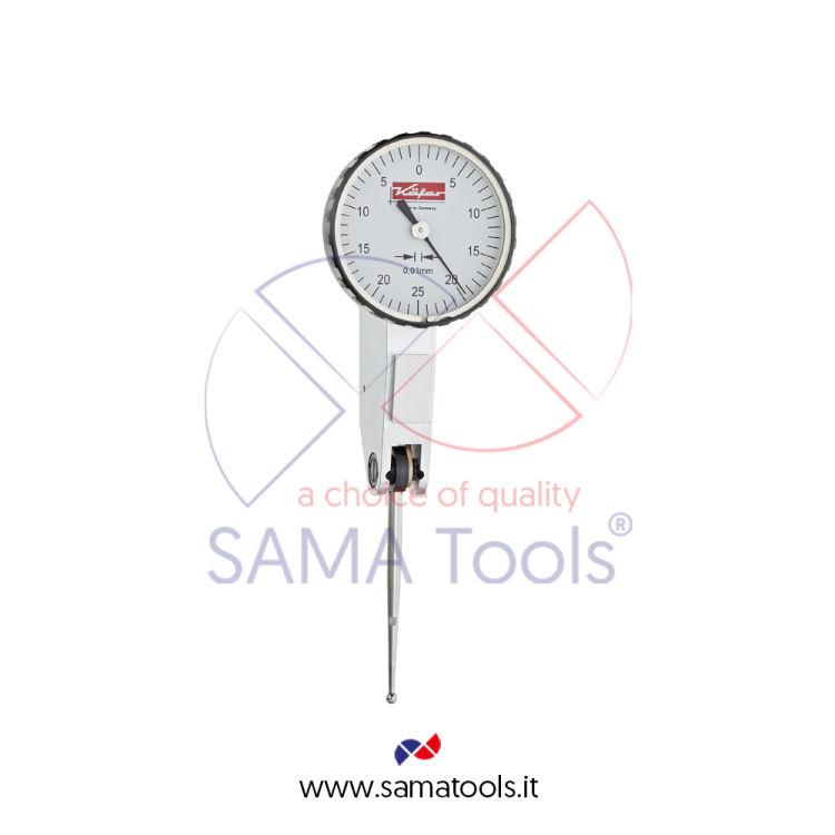 Tastatore girevole KAFER centesimale D32 - Campo 0-0,5/0,01mm L=35,7mm form A