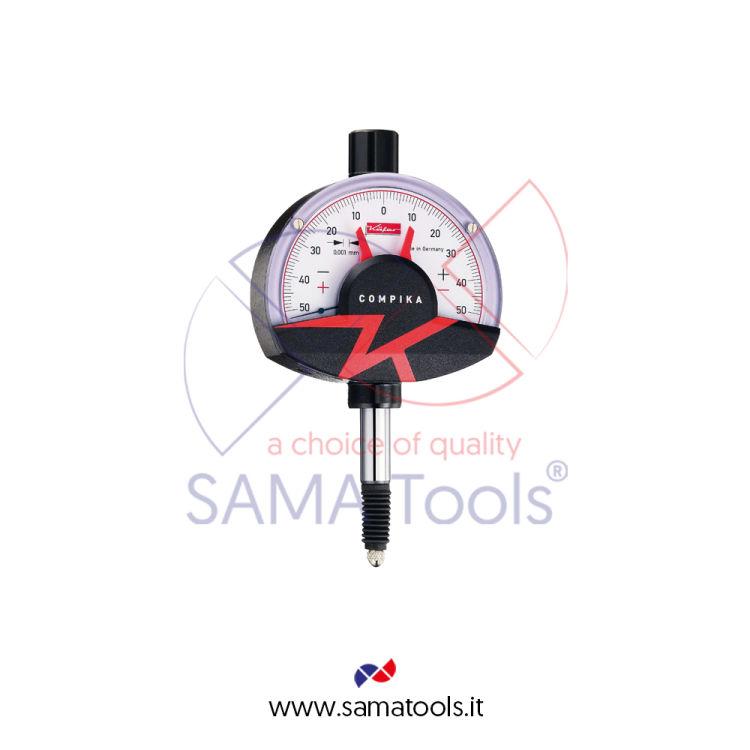Comparatore COMPIKA KAFER Antiurto e Impermeabile - D62 Corsa 0,1/0,001mm