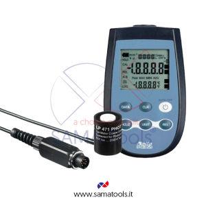 Luxmetro digitale per la misurazione dell'illuminamento