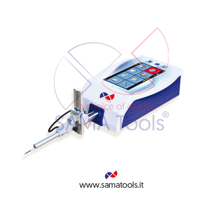 Portable surface profiler tester