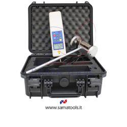 Kit completo strumentazione per controllo e manutenzione porte automatiche. Rapporto di taratura incluso