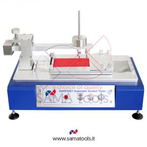 Automatic scratch tester with constant loading