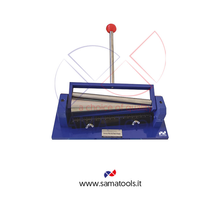 Paint film bend tester with  conical mandrel