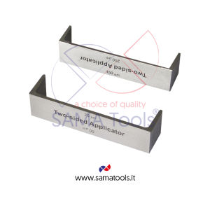 Stainless steel two sided applicators