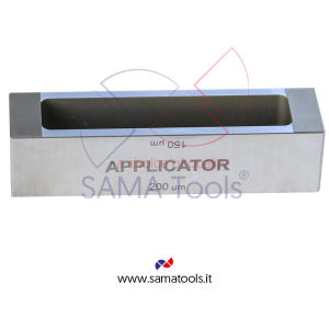 Stainless steel frame type four sided applicators