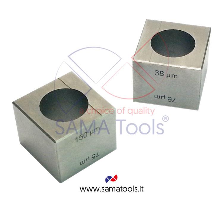 Applicatori a cubo in acciaio inox